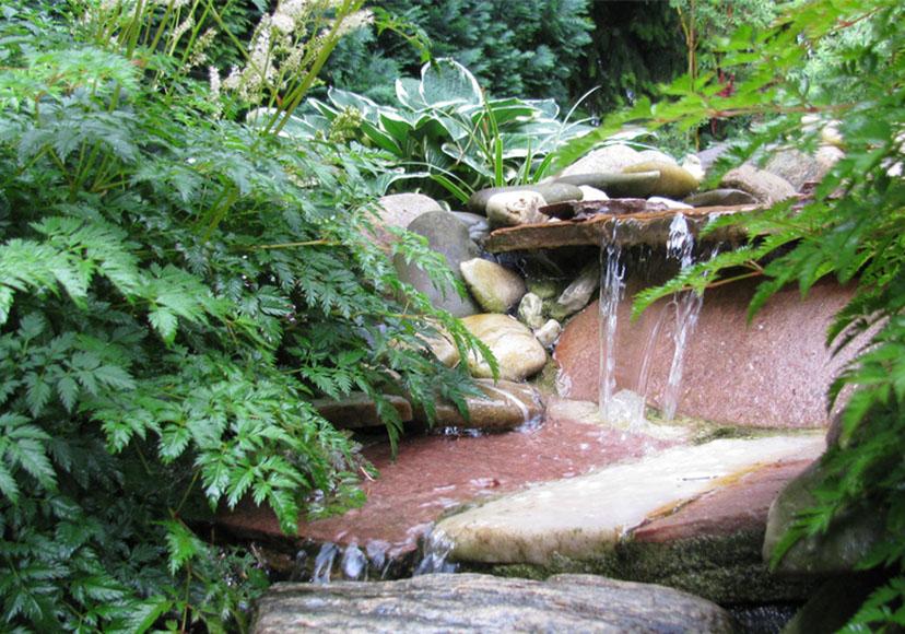 Selbst Gebaut Bachlauf Im Eigenen Garten Schritt Fur Schritt